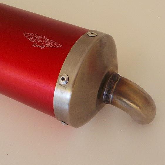 Silenziatore omologato  CIK-FIA 06/EX-SI/22 - Colorato